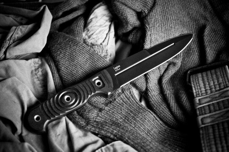 Нож Kizlyar Supreme Legion D2 Black