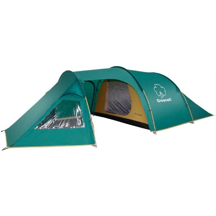 Палатка Greenell Арди 3, зеленая (25583-303-00)