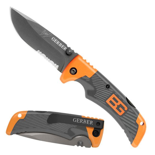 Нож Gerber Bear Grylls Scout, серрейторное, блистер вскрытый