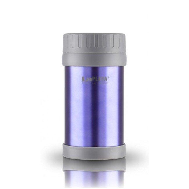 Термос для еды La Playa Food JMG, 0,5 л (фиолетовый, стальной, бирюзовый)
