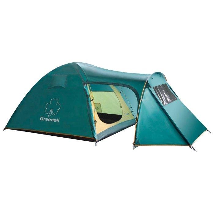 Палатка Greenell Каван 3, зеленая (25473-303-00)