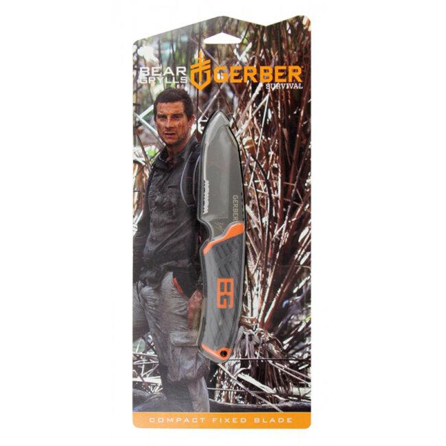 Нож Gerber Bear Grylls Compact Fixed Blade вскрытый