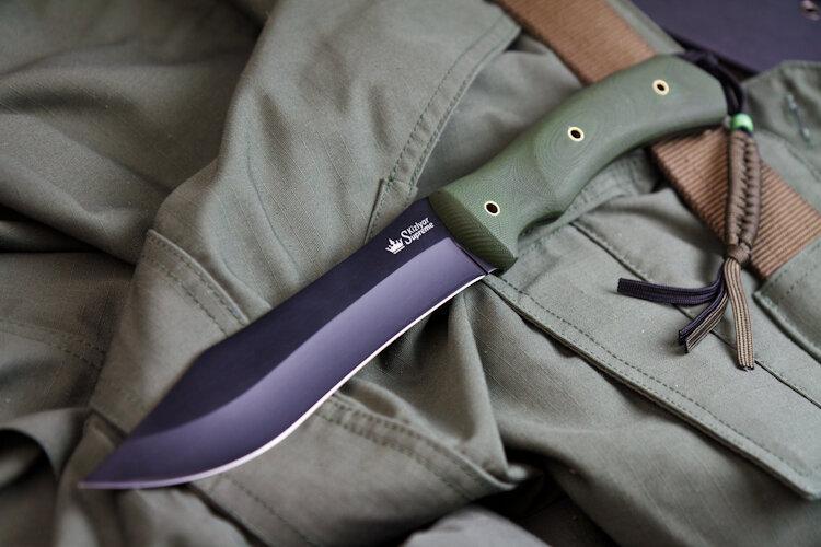 Нож Kizlyar Supreme Safari AUS-8 Black