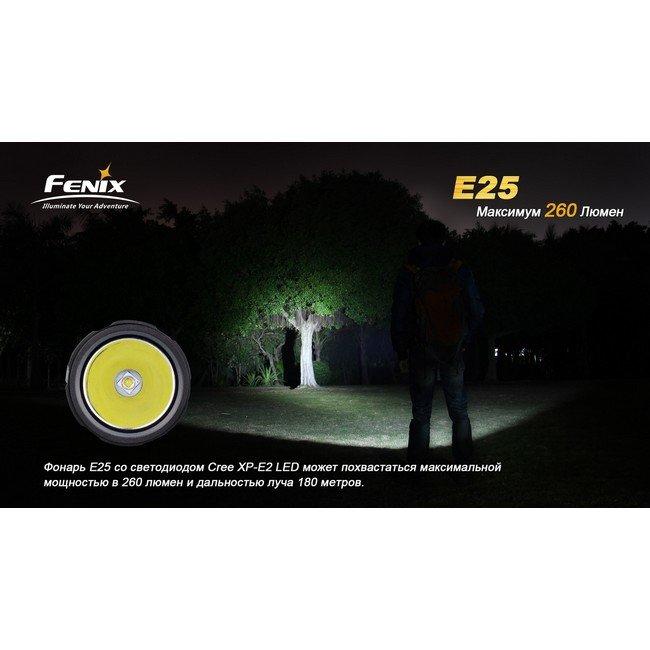 Фонарь Fenix E25 Cree XP-E2
