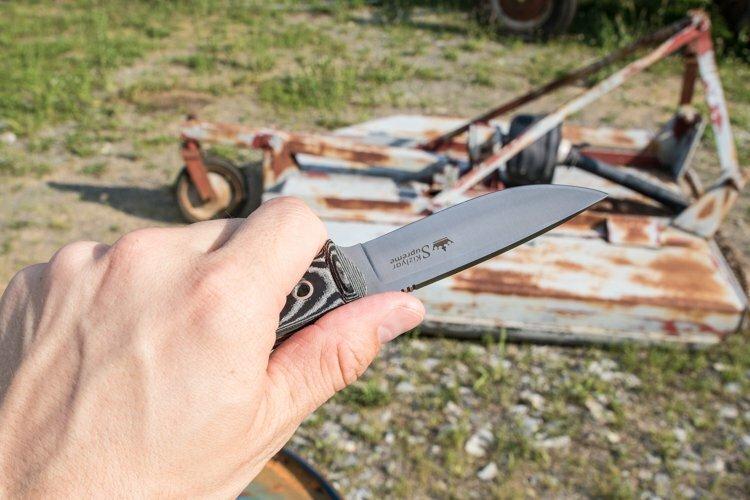 Нож Kizlyar Supreme Santi D2 Satin