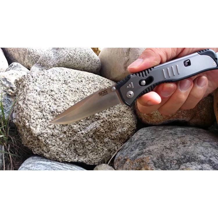 Нож полуавтоматический SOG FlashBack, SG_SAT001