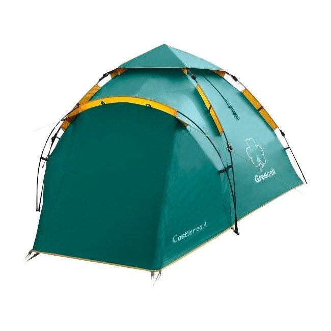 Палатка Greenell Каслрей 4, зеленая (95283-303-00)