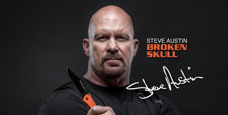 Нож Cold Steel Broken Skull 1 Orange, 54SBOR