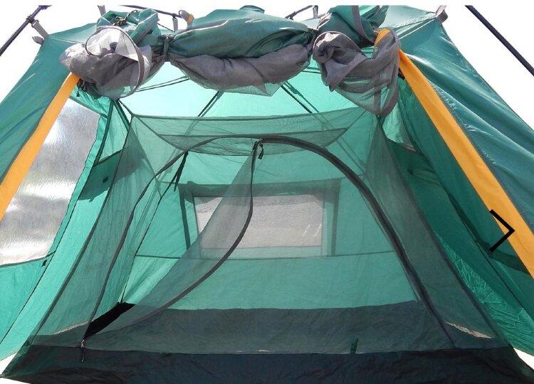 Палатка Greenell Ларн 2, зеленая (95466-325-00)