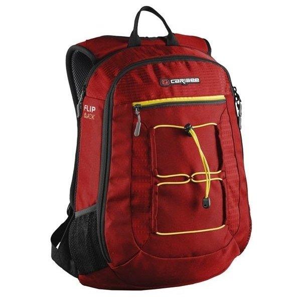 Рюкзак Caribee Flip Back, 26 л (красный, черный)