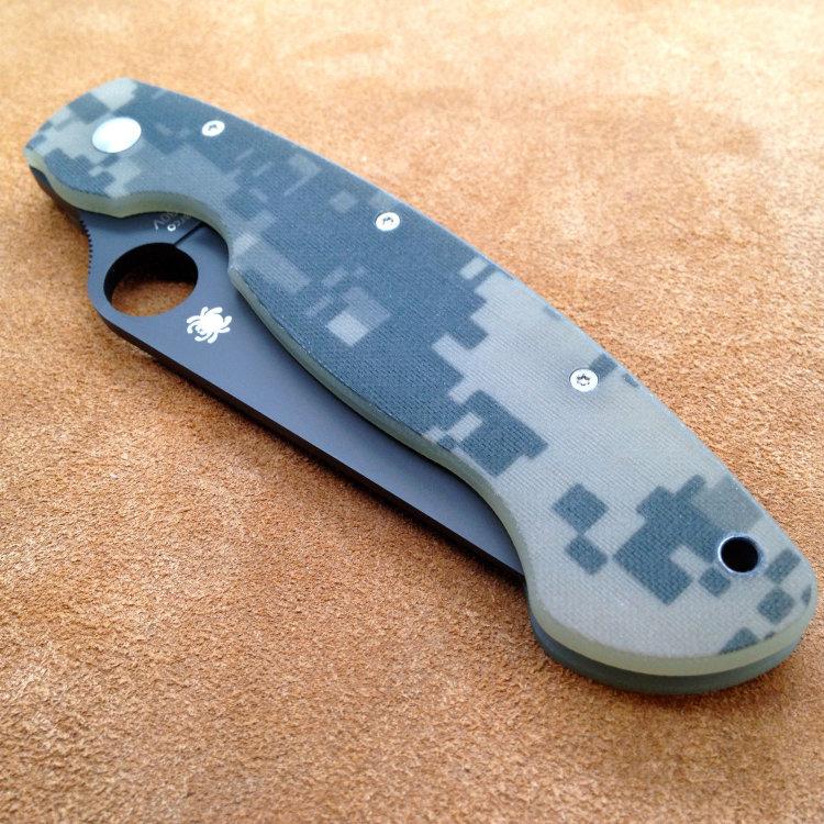 Складной нож Spyderco Military