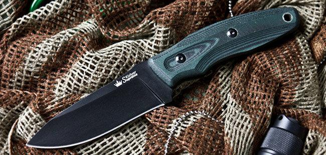 Нож Kizlyar Supreme Urban D2 Black Titanium