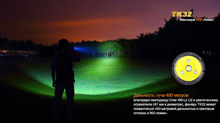 Фонарь Fenix TK32 Cree XM-L2 (U2) LED