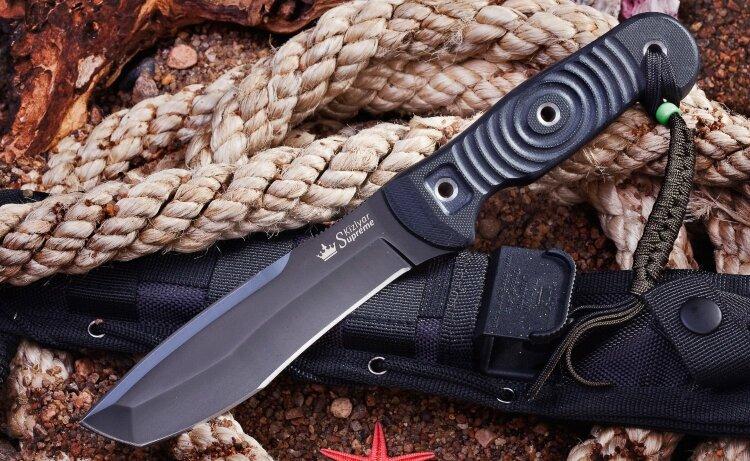 Нож Kizlyar Supreme Vendetta AUS-8 Black