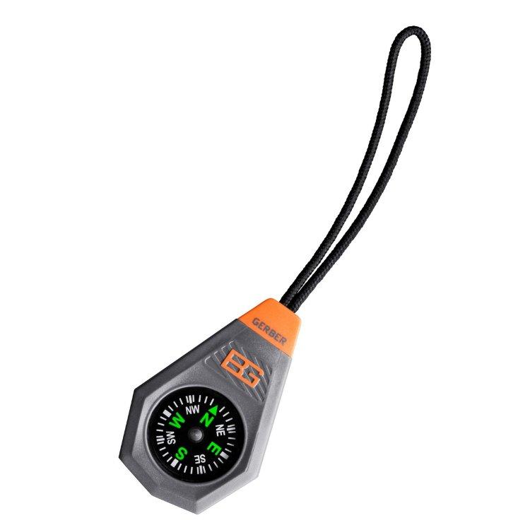 Компас Gerber Bear Grylls Compact compass, блистер, 31-001777