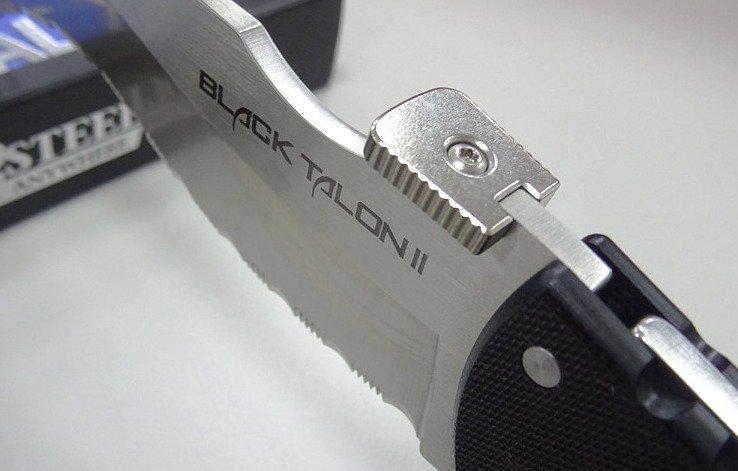 Нож Cold Steel Black Talon II Serrated Edge 22BTS
