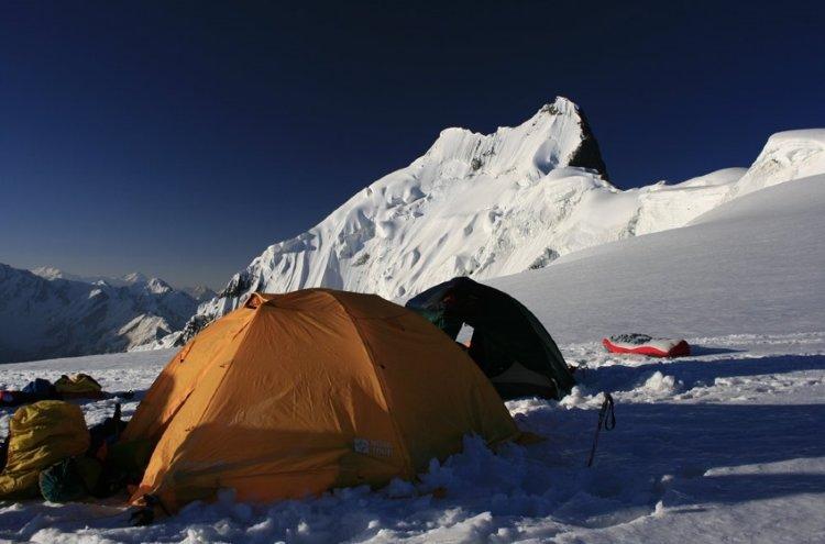 Палатка Nova Tour Памир 3 V2, оранжевая (95501-207-00)