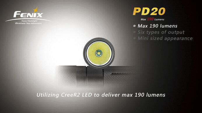 Фонарь Fenix PD20 Premium R5