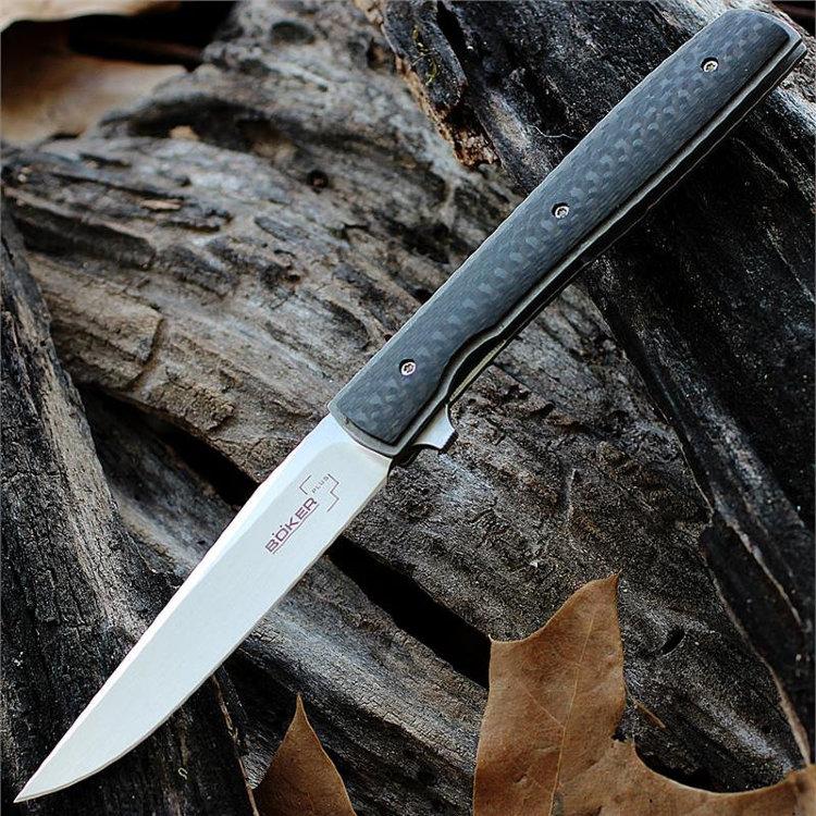 Складной нож Boker Plus Urban Trapper Carbon, BK01BO733