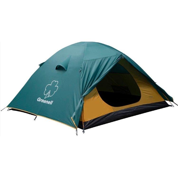 Палатка Greenell Гори 2, зеленая (25383-303-00)
