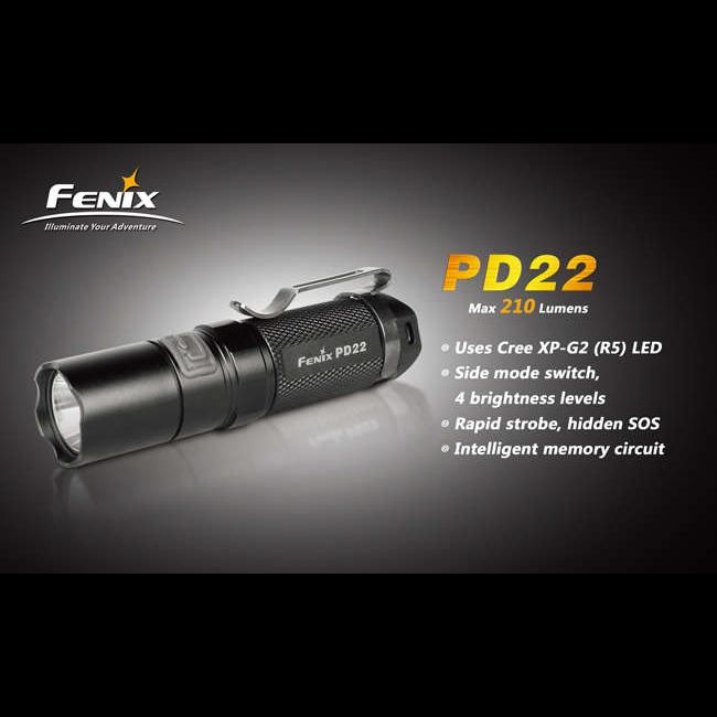 Fenix PD22 G2 повреждена упаковка