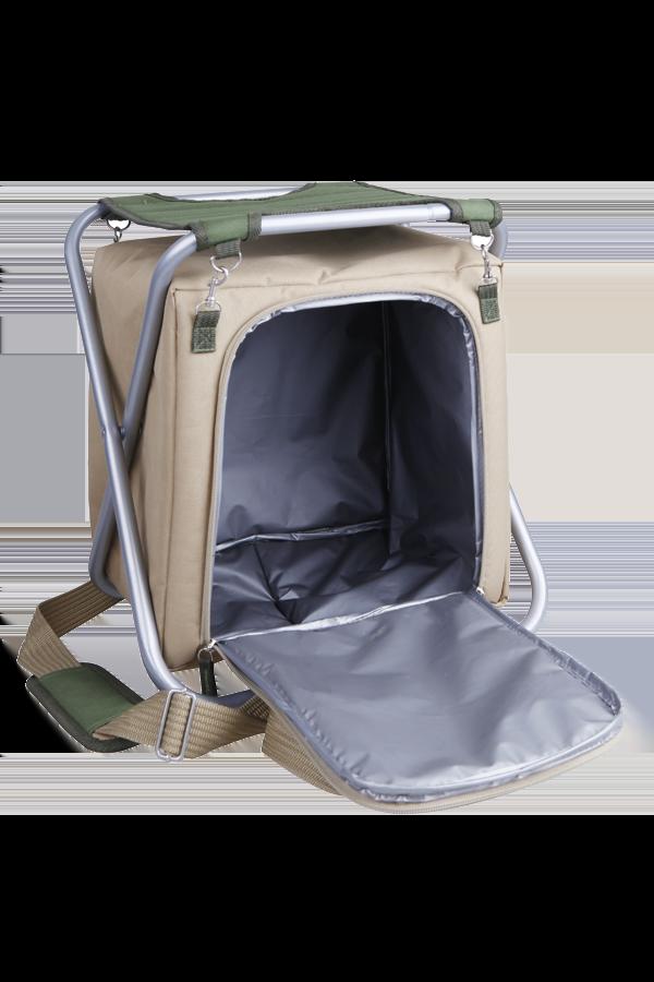 Сумка-холодильник Арктика со складным стульчиком 3500-1