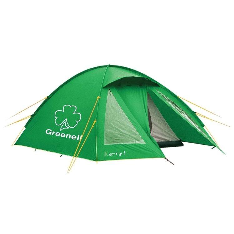 Палатка Greenell Керри 2 V3, зеленая (95511-367-00)
