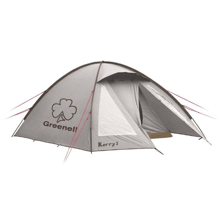Палатка Greenell Керри 2 V3, коричневая (95511-230-00)