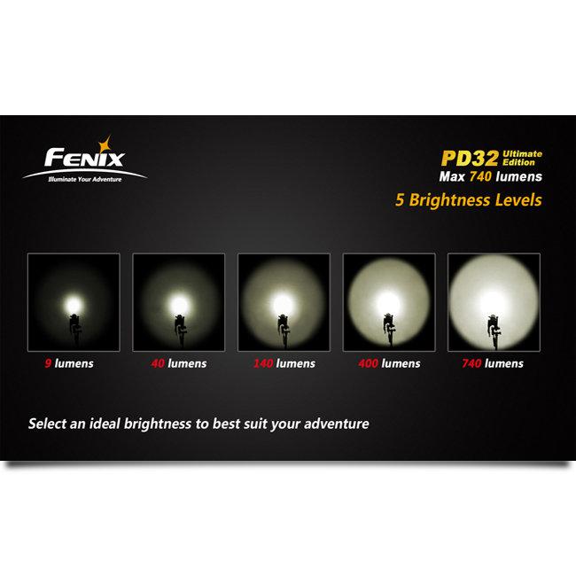 Фонарь Fenix PD32 Ultimate Edition Cree XM-L (T6) neutral white