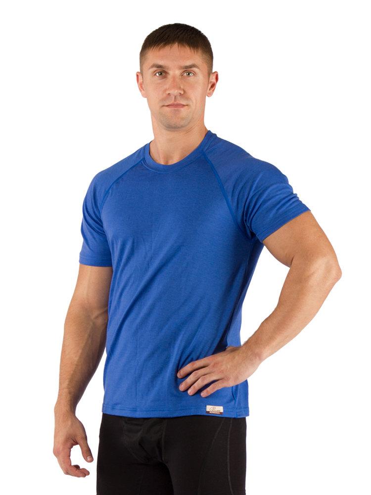 Футболка мужская Lasting QUIDO, синяя