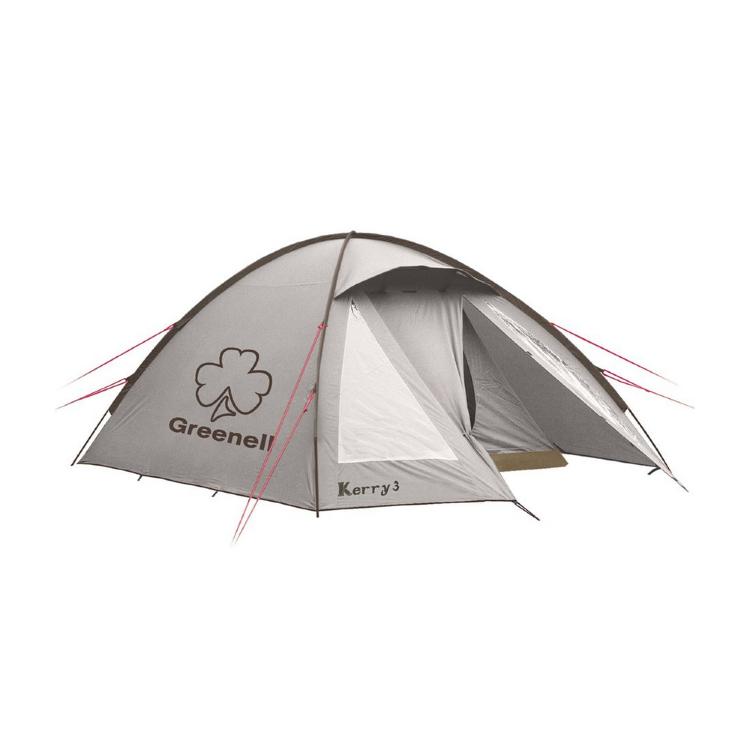 Палатка Greenell Керри 4 V3, коричневая (95513-230-00)