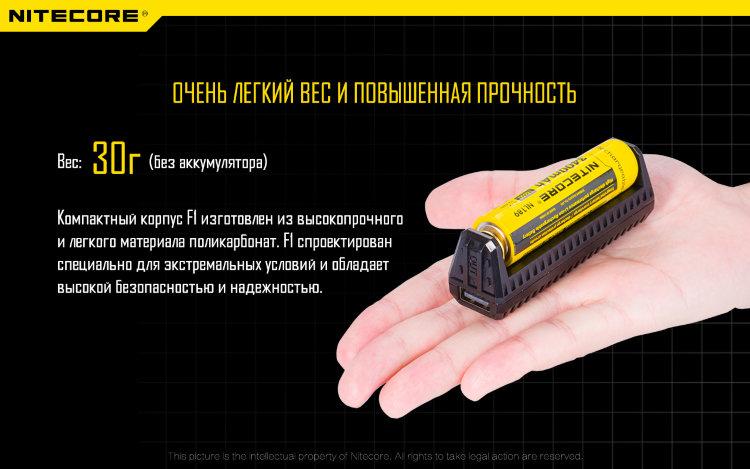 Зарядное устройство Power Bank Nitecore F1