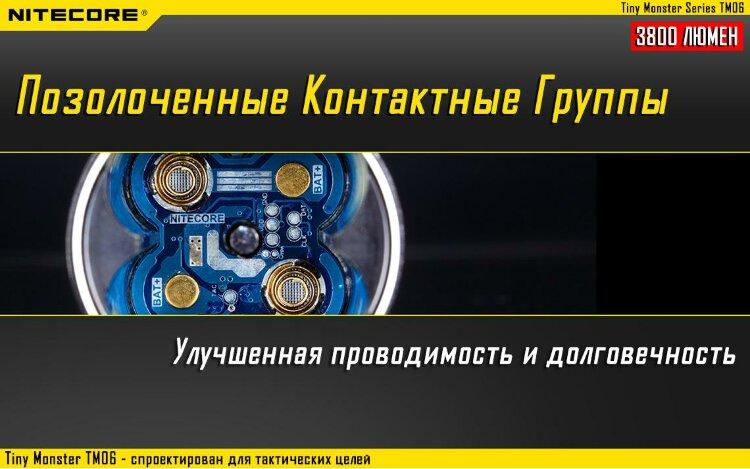 Фонарь Nitecore TM06
