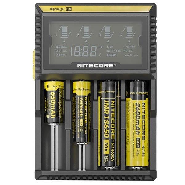 Зарядное устройство Nitecore Digicharger D4