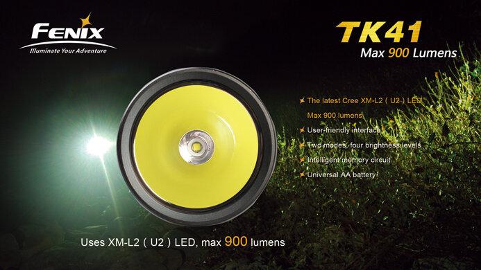 Фонарь Fenix TK41 Cree XM-L2 (U2)