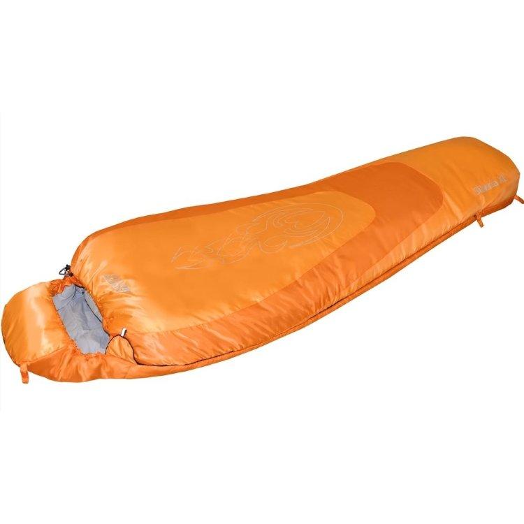 Спальный мешок Nova Tour Сибирь -20 XL V2 правый, оранжевый (95422-233-Right)