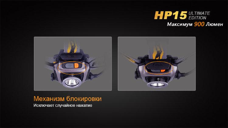 Фонарь Fenix HP15UE Cree XM-L2 (U2)