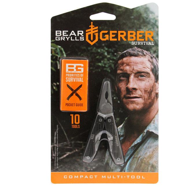 Мультитул Gerber Bear Grylls Compact, блистер, 31-000750