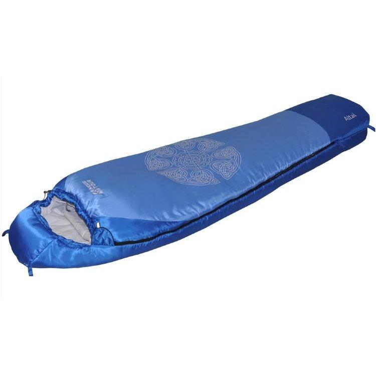 Спальный мешок Nova Tour Алтай -10 V2 правый, синий (95423-407-Right)