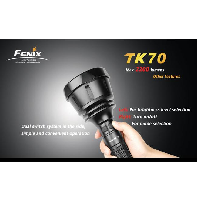 Фонарь Fenix TK70 Cree XM-L