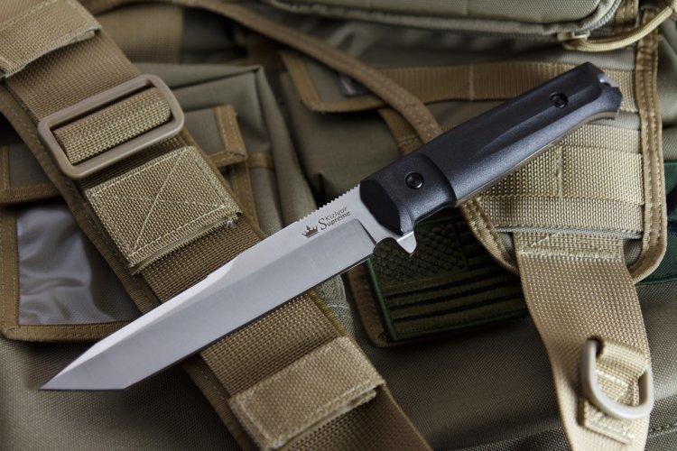 Нож Kizlyar Supreme Aggressor AUS-8 Black Сатин