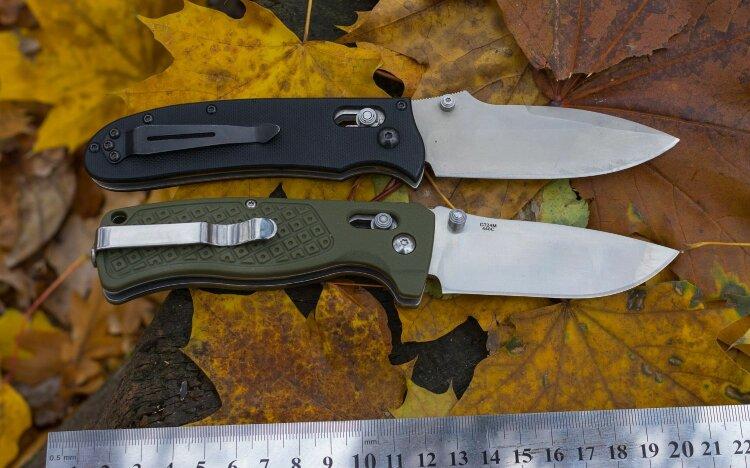 Нож Ganzo G724M (черный, зеленый, оранжевый)