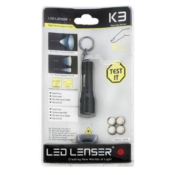 Фонарь Led Lenser K3
