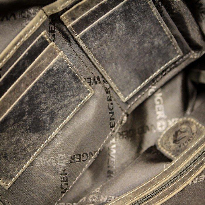Сумка наплечная вертикальная Wenger Arizona, коричневая, (W23-05Br)