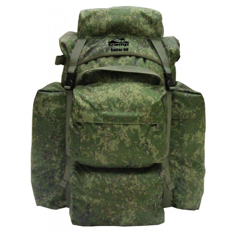 Рюкзак Tramp Setter 60, TRP-025 (оливковый, камуфляж)