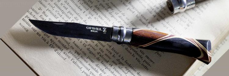 Нож Opinel №8 Chaperon, рукоять африканское дерево, футляр