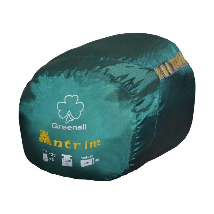 Спальный мешок Greenell Антрим левый, зеленый (34013-303-Left)