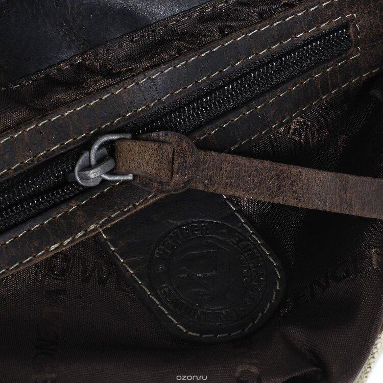 Сумка-планшет Wenger Arizona, коричневая, (W23-03Br)