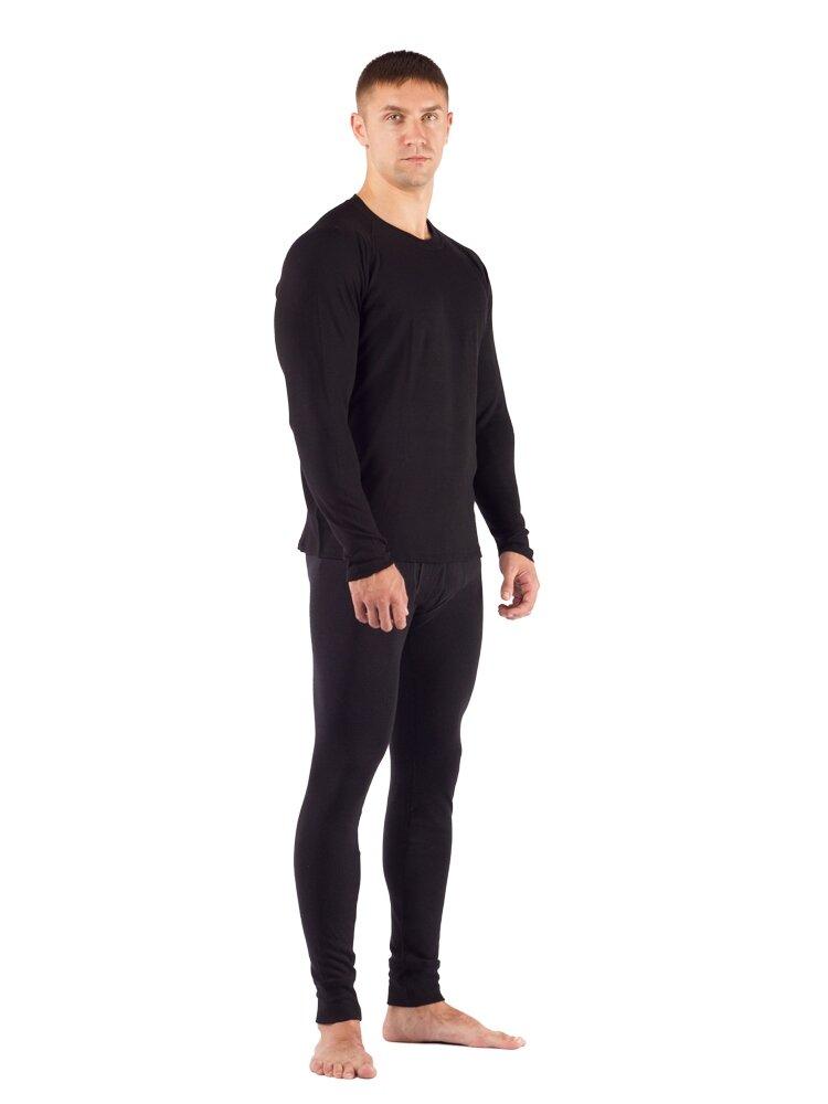 Комплект мужского термобелья Lasting, черный - футболка Rosta и штаны Rex