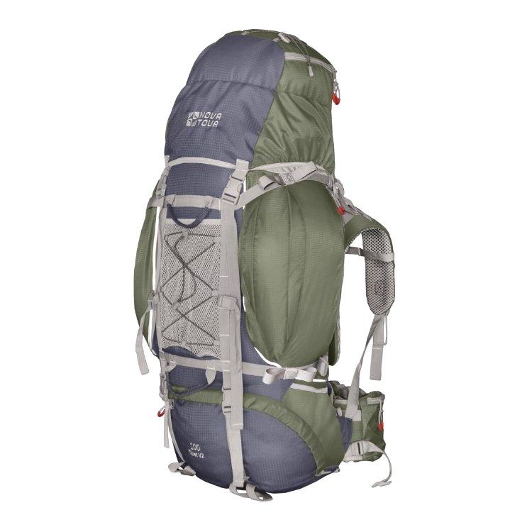 Рюкзак Nova Tour Тибет 100 V2 серый/зеленый (11193-350-00)